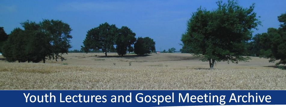 Join us for our Gospel Meeting June 9-14, 2013